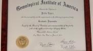 Tasación Joyas Madrid TJM diploma de graduado en diamantes por el GIA