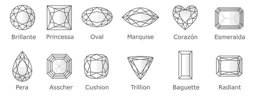 Talla de diamantes