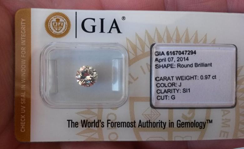 diamante encapsulado