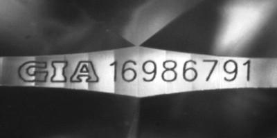 inscripción gia laser